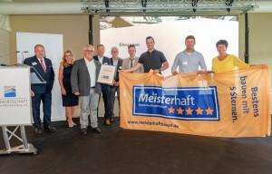 Mit Qualität, Kompetenz und Zuverlässigkeit - Braun Bauunternehmen GmbH hat Meisterhaft 5-Sterne erreicht